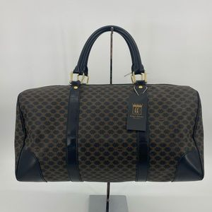 ♥️sold❌Celine Macadam Boston Travel Bag